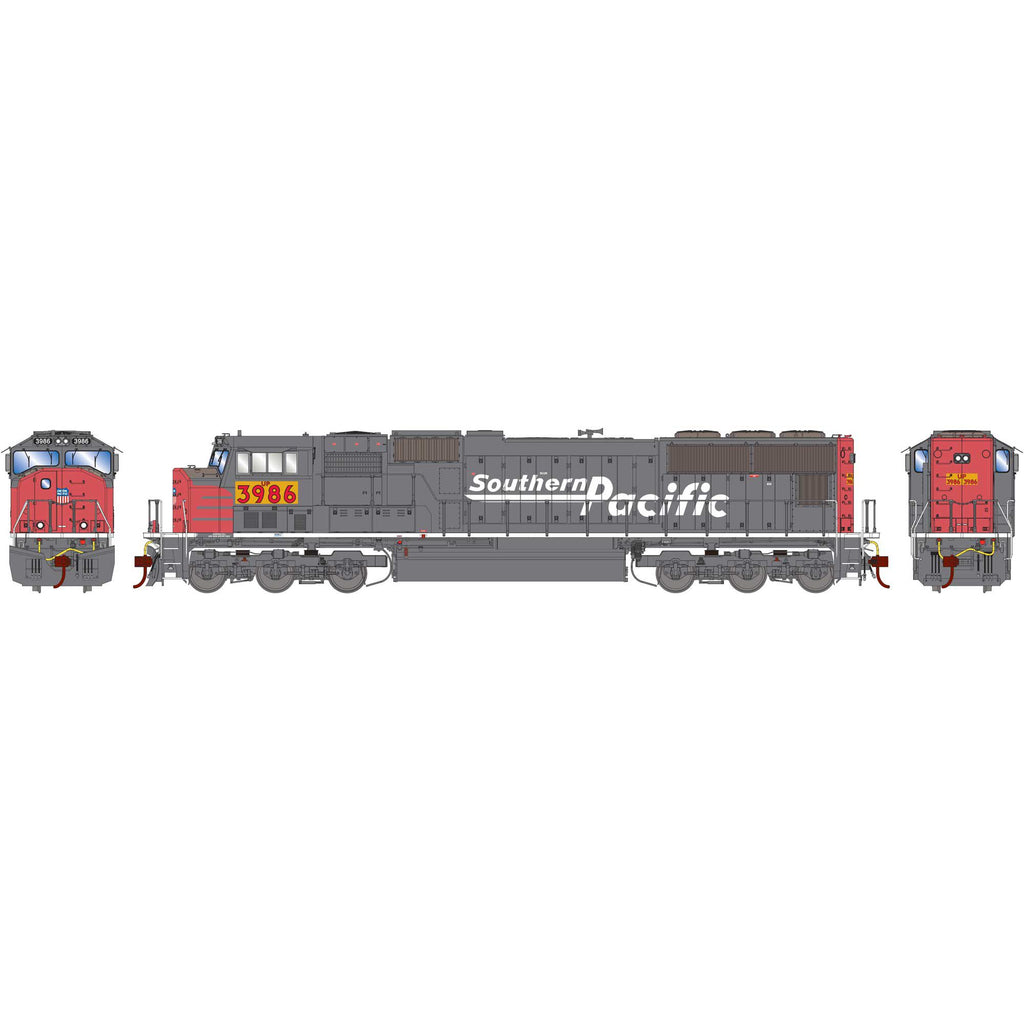Athearn Genesis HO SD70M Union Pacific w/PTC (Ex SP) Patch #3986 DCC Ready