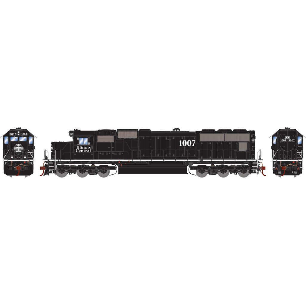 Athearn Genesis HO SD70, IC/White Stripe #1007 DCC Ready