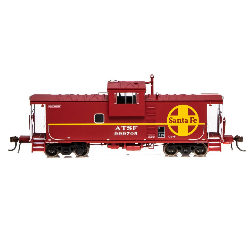Athearn Genesis HO ICC ATSF #999705 Caboose with DCC-Lights & Sound