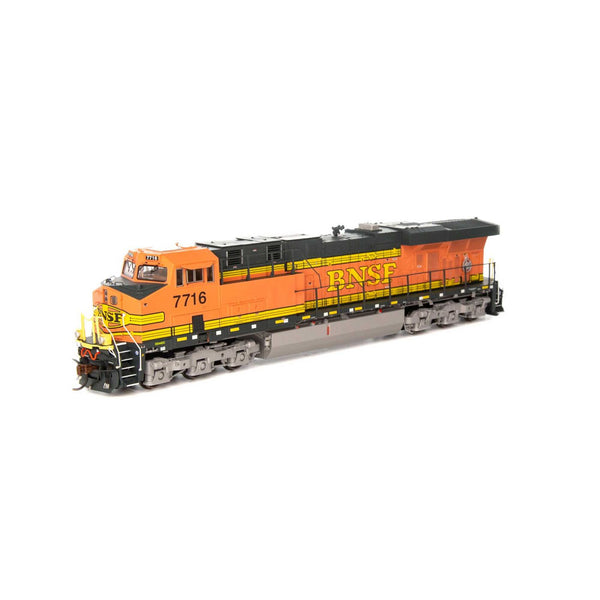Athearn Genesis HO ES44DC with DCC & Sound BNSF Faded H1
