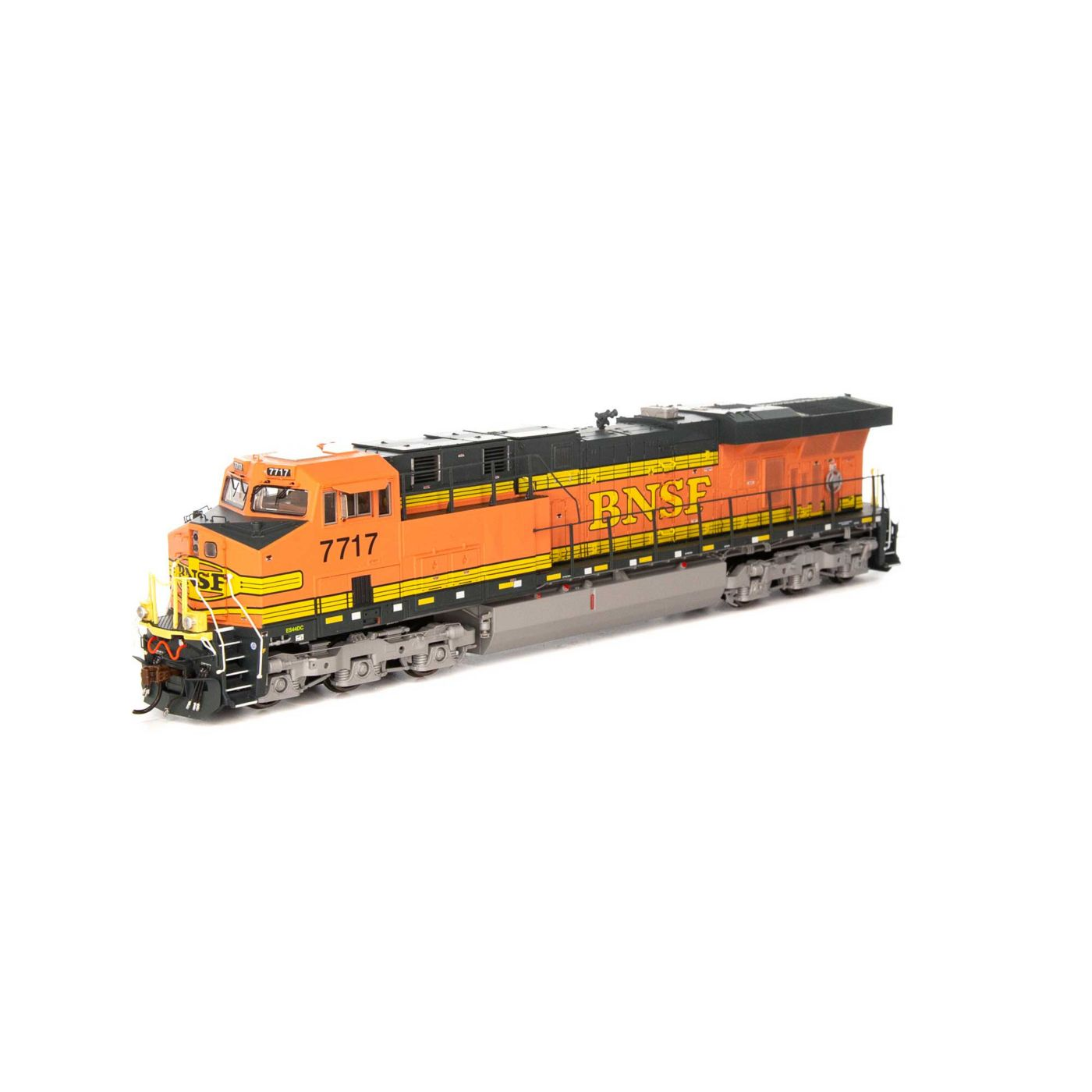 Athearn Genesis HO ES44DC with DCC & Sound BNSF Faded H1 #7716