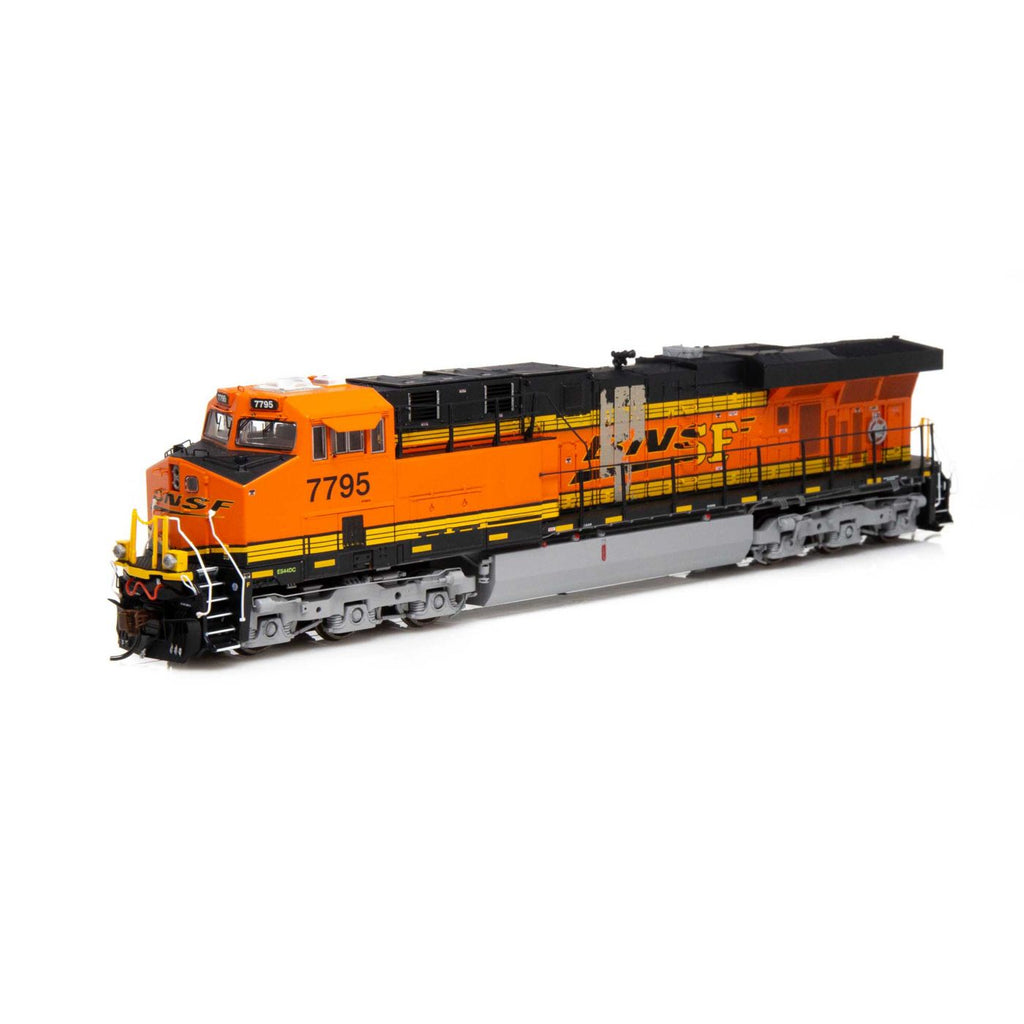 Athearn Genesis HO ES44DC BNSF Patch Repair H2 #7795 DCC READY