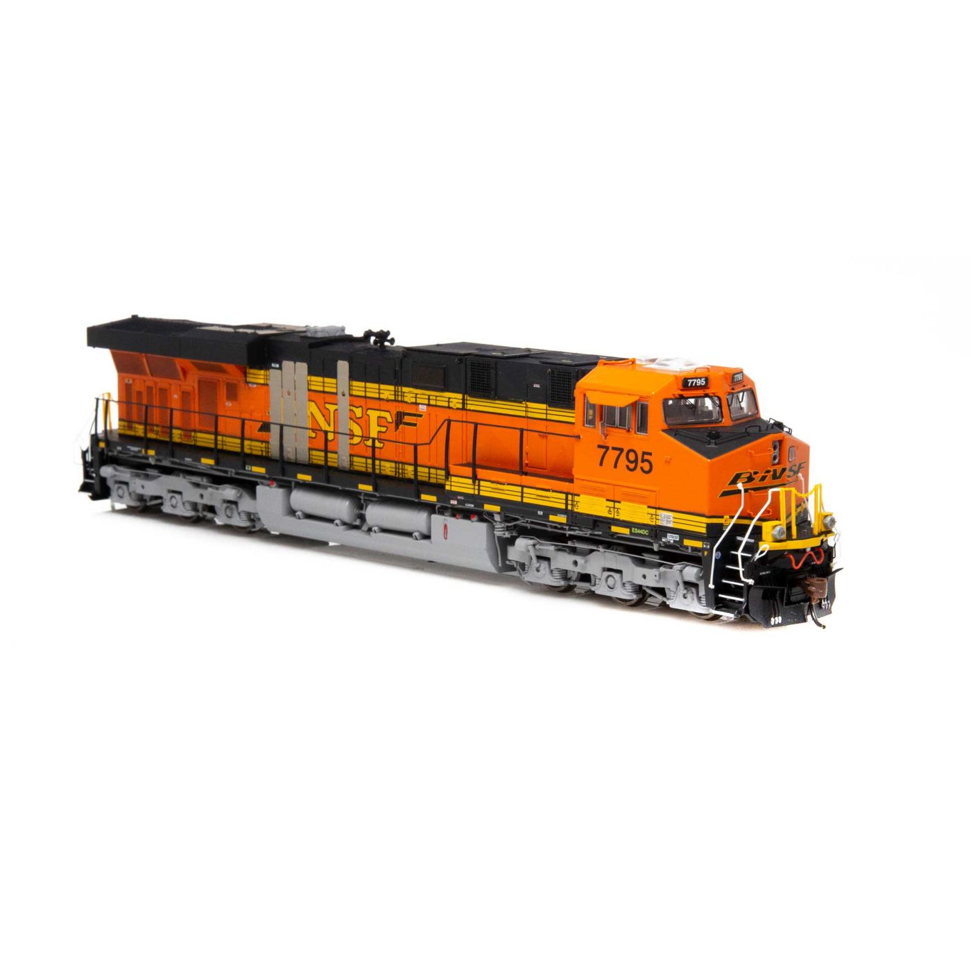 Athearn Genesis HO ES44DC with DCC & Sound BNSF Patch Repair H2 #7795