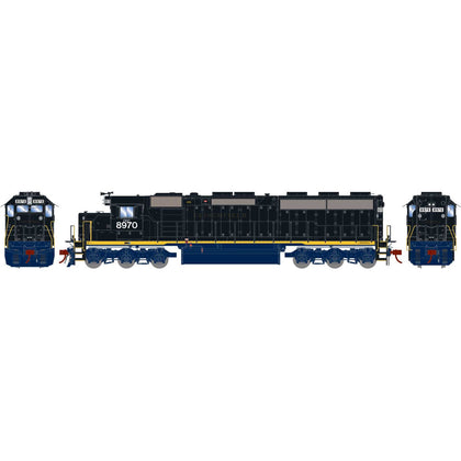 Athearn Genesis HO SD45-2 with DCC & Sound CSX ex CRR #8970