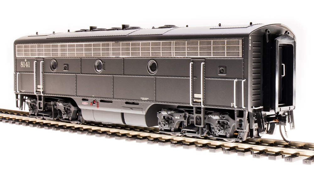 Broadway Limited HO 4863 EMD F7B, SP 8141, Bloody Nose Scheme, Paragon3