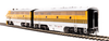 Broadway Limited HO 4844 EMD F7 A/B, D&RGW 5601/5602, 5-Stripe Scheme, Paragon3