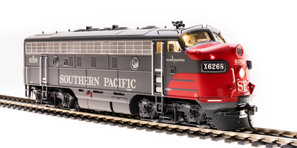 Broadway Limited HO 4862 EMD F7A, SP 6268, Bloody Nose Scheme, Paragon3