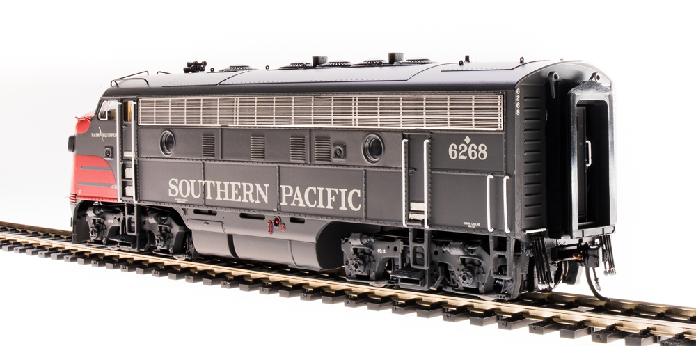 Broadway Limited HO 4849 EMD F7 A/B, SP 6167/8140, Bloody Nose Scheme, Paragon3