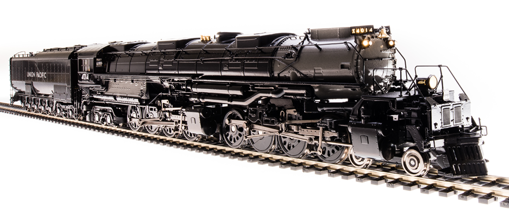 Broadway Limited HO UP Big Boy #4014, Promontory Excursion, Glossy Finish, Challenger Excursion Tender, Paragon3 Smoke