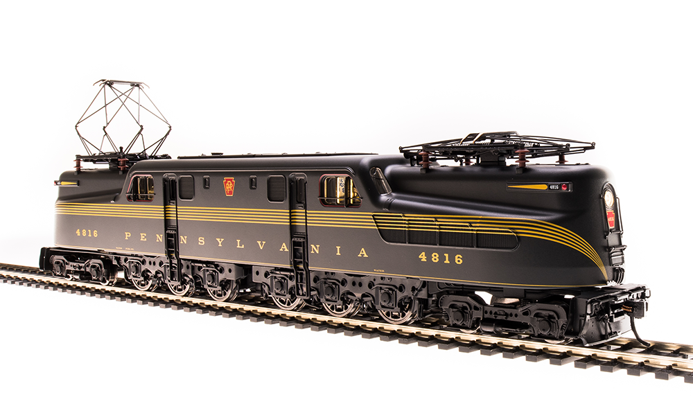 Broadway Limited HO PRR GG1 #4801 DCC/Sound Paragon 3