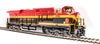 Broadway Limited HO GE ES44AC KCS 4786  Southern Belle Paragon3 Sound/DC/DCC, Smoke