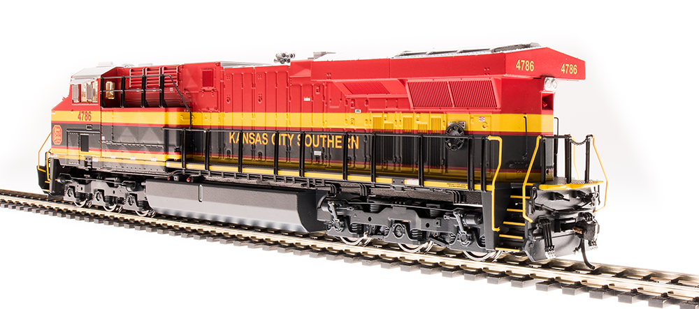 Broadway Limited HO GE ES44AC KCS 4775  Southern Belle Paragon3 Sound/DC/DCC, Smoke