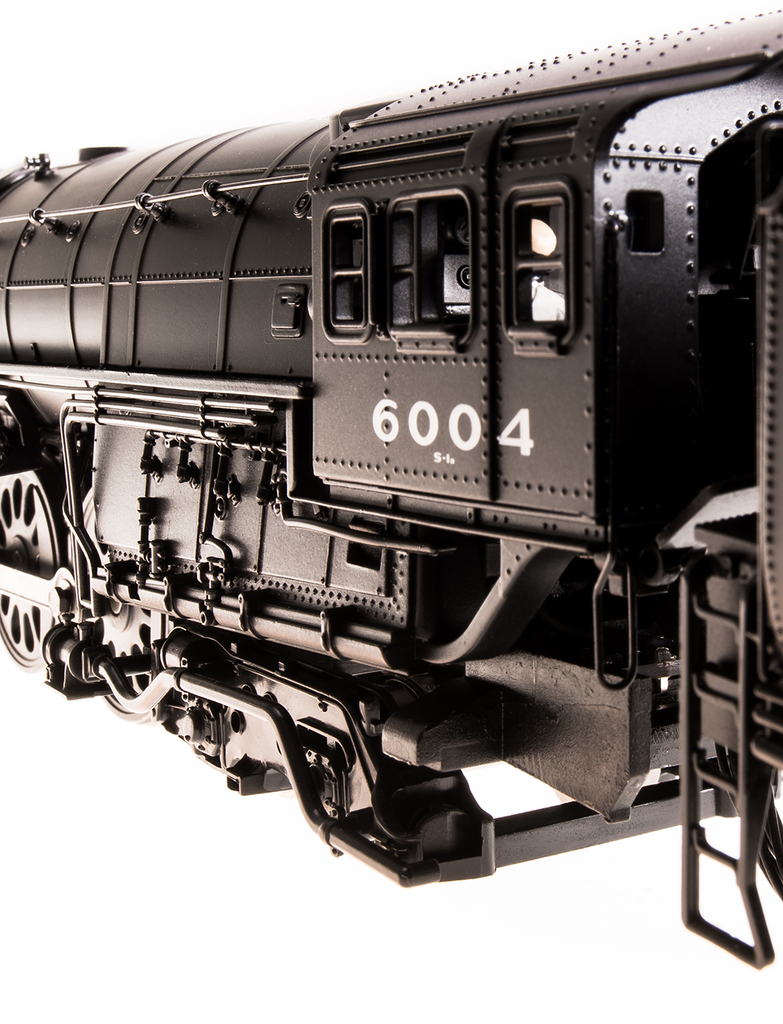 Broadway Limited HO NYC Niagara S1b 4-8-4 #6018 Paragon3 Smoke