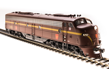 Load image into Gallery viewer, Broadway Limited EMD E8 A-unit, PRR #4251, Tuscan Red, Single Stripe, Paragon3 Sound/DC/DCC, HO