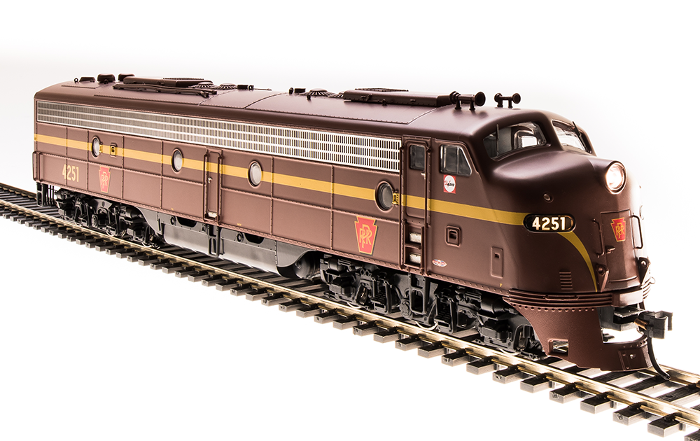 Broadway Limited EMD E8 A-unit, PRR #4261, Tuscan Red, Single Stripe, Paragon3 Sound/DC/DCC, HO