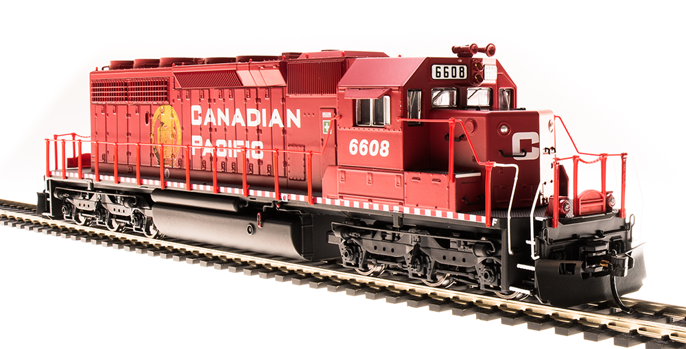 BLI EMD SD40-2 Canadian Pacific #6604 Golden Beaver Paragon3 DCC/Sound