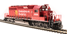 Load image into Gallery viewer, BLI EMD SD40-2 Canadian Pacific #6604 Golden Beaver Paragon3 DCC/Sound