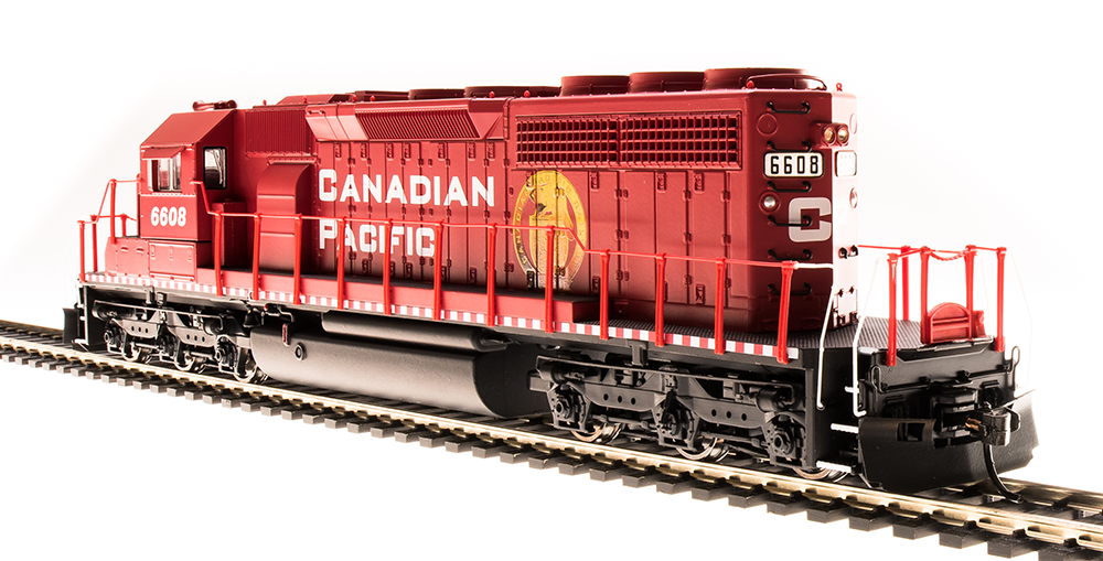 BLI EMD SD40-2 Canadian Pacific #6608 Golden Beaver Paragon3 DCC/Sound