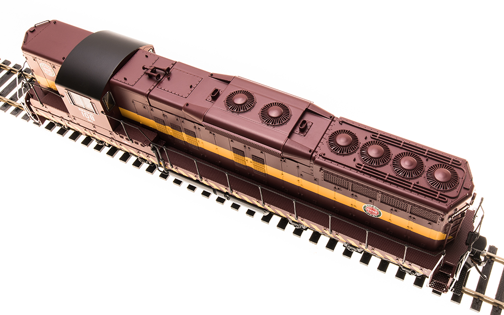 Broadway Limited HO SD9 DM&IR As-Delivered Scheme w/Paragon 3