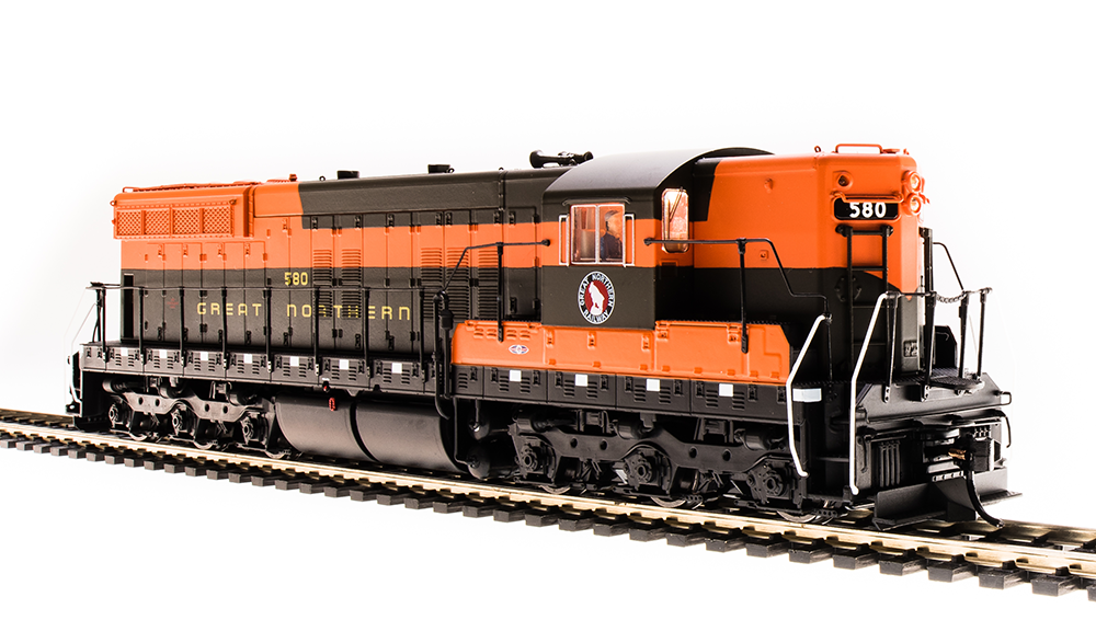 Broadway Limited HO SD9 GN Great Northern Empire Builder Scheme w/Paragon 3