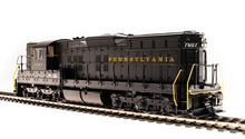 Load image into Gallery viewer, Broadway Limited HO Pennsylvania PRR EMD SD9 Brunswick Green w/Paragon 3