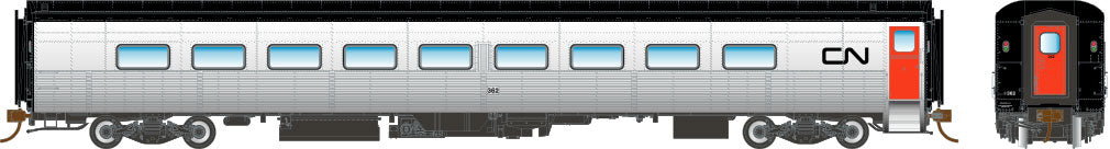 Rapido HO Tempo Coach Car CN Canadian National #374