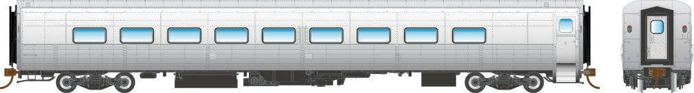 "Rapido HO Tempo Coach Car ""Undecorated"""
