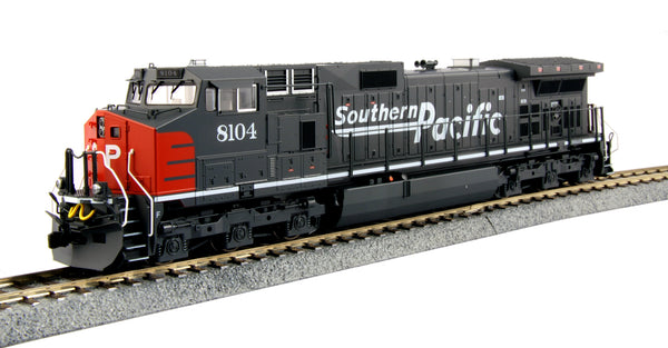 "Kato HO GE C44-9W Southern Pacific SP ""Bloody Nose"" #8104 DCC Ready"