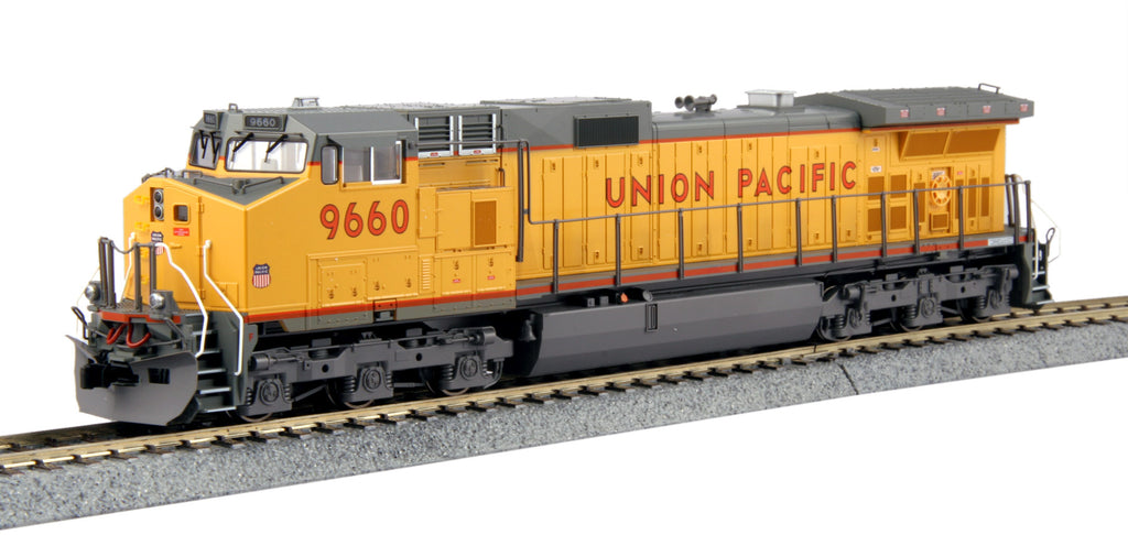 Kato HO GE C44-9W Union Pacific UP #9660 w/DCC