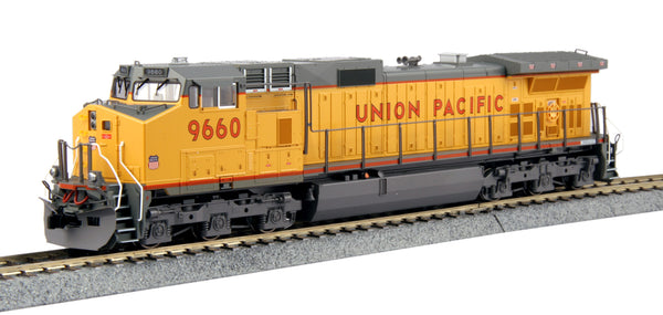 Kato HO GE C44-9W Union Pacific UP #9660 DCC Ready
