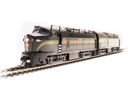 Broadway Limited HO PRR Sharknose  BF16 A/B SET #2000A/2000B 5-Stripe Paragon3