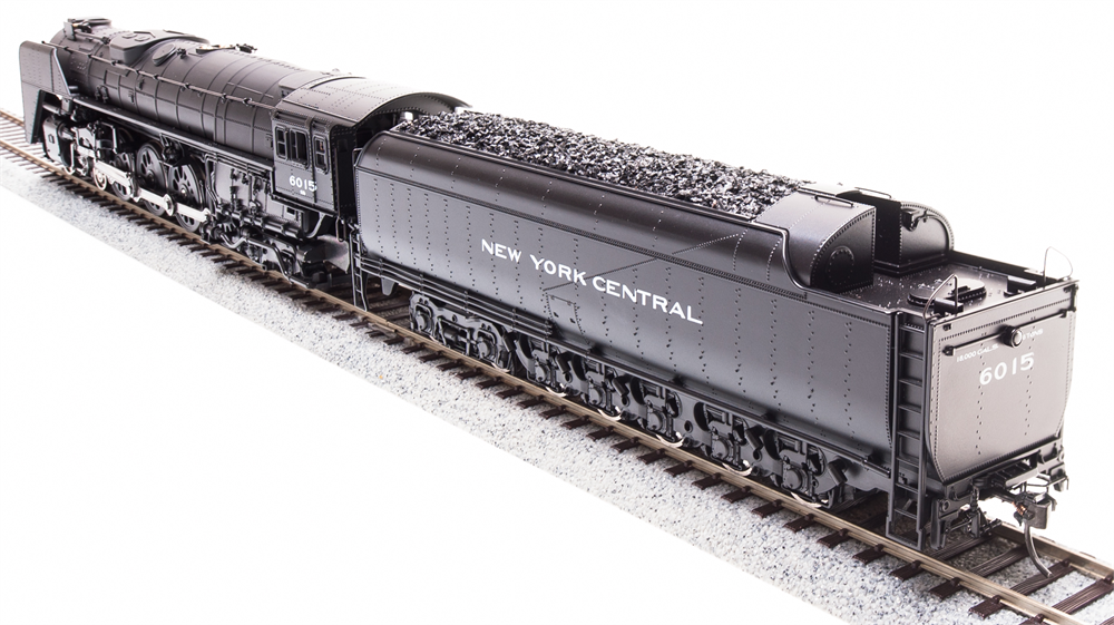 Broadway Limited HO NYC Niagara S1b 4-8-4 #6002 Paragon3 Smoke