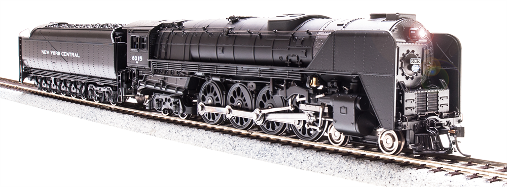 Broadway Limited HO NYC Niagara S1b 4-8-4 #6004 Paragon3 Smoke