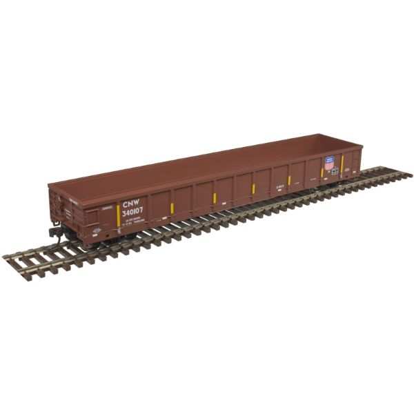 Atlas Trainman HO Evans 52' Gondola Union Pacific CNW #340124