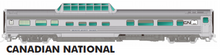 Load image into Gallery viewer, Rapido HO Scale Budd Mid Train Dome Car Canadian National, Starlight Dome