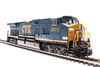 Broadway Limited, HO GE AC6000 w Paragon3 Sound & Smoke, CSX #680 YN3 Dark Future BLI-5687