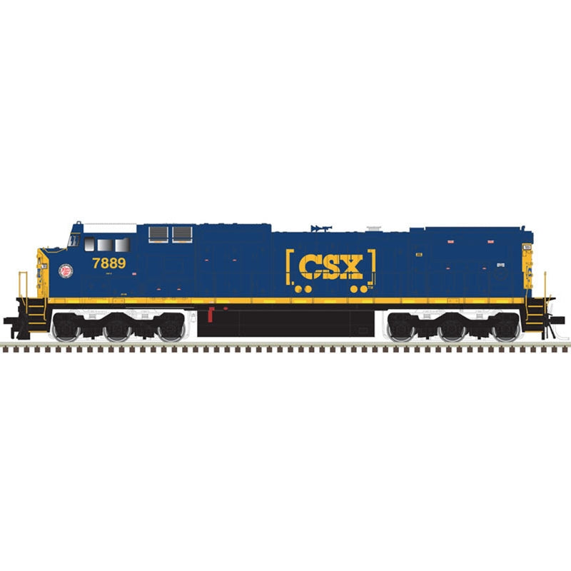 Atlas HO DASH 8-40CW GOLD CSX [ACL HERITAGE] #7889 LokSound DCC/Sound