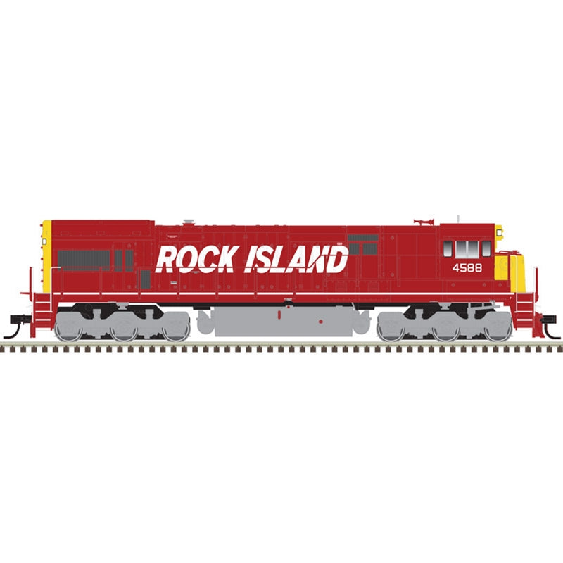 HO U30C GOLD ROCK ISLAND