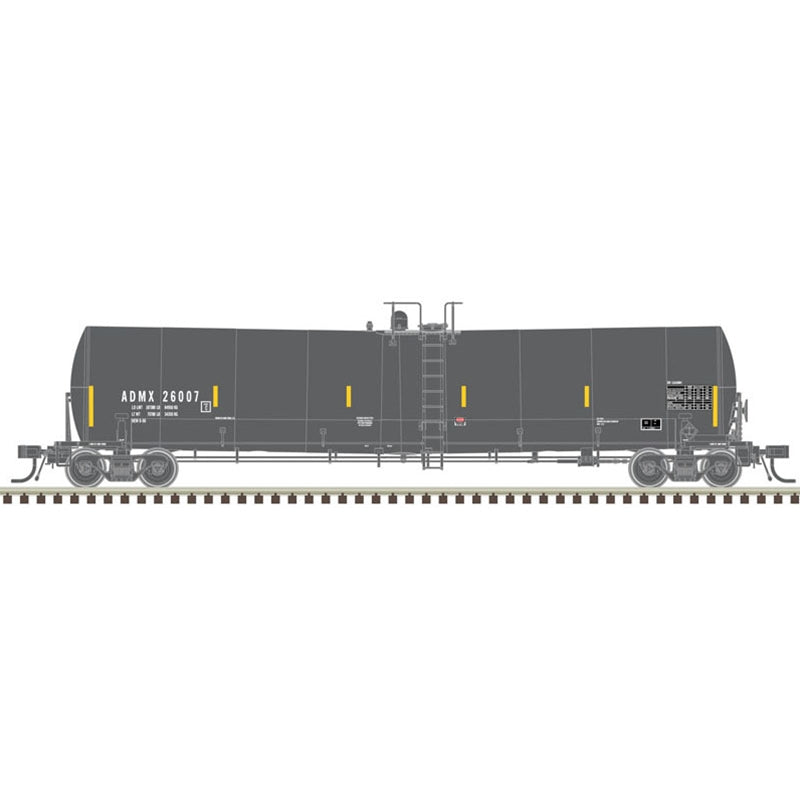 Atlas HO 25,500 GALLON TANK CAR ADM REPAINT [IN-SERVICE] #26254