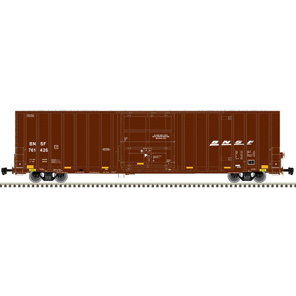 HO 60' GUNDERSON 7538 SINGLE DOOR BOX CAR BNSF #761534