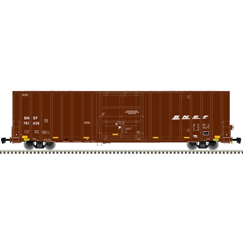 HO 60' GUNDERSON 7538 SINGLE DOOR BOX CAR BNSF