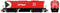 "Rapido HO Scale MLW Canadian Pacific ""CP"" RS18 #8785 Locomotive w/LokSound"