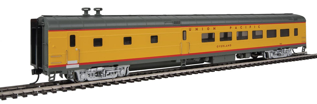 "Walthers Proto 85' ACF 48-Seat ""Lighted"" Overland Diner Union Pacific Heritage Fleet"
