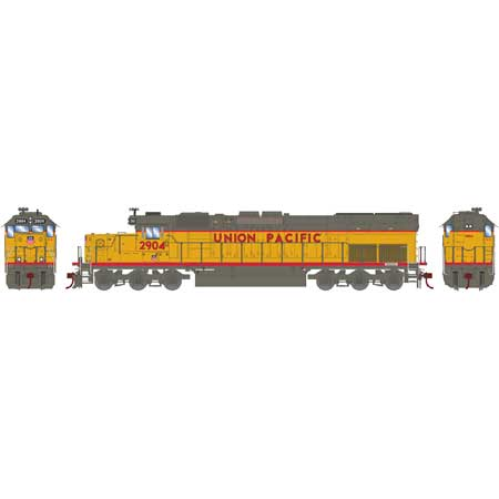 Athearn HO 86804 SD40T-2, Union Pacific #2904 (DCC and Sound Equipped)