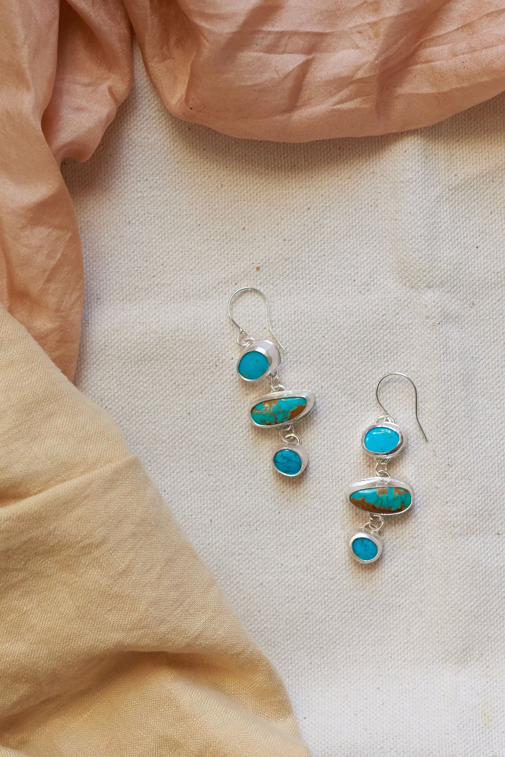 Turquoise Trio Earrings