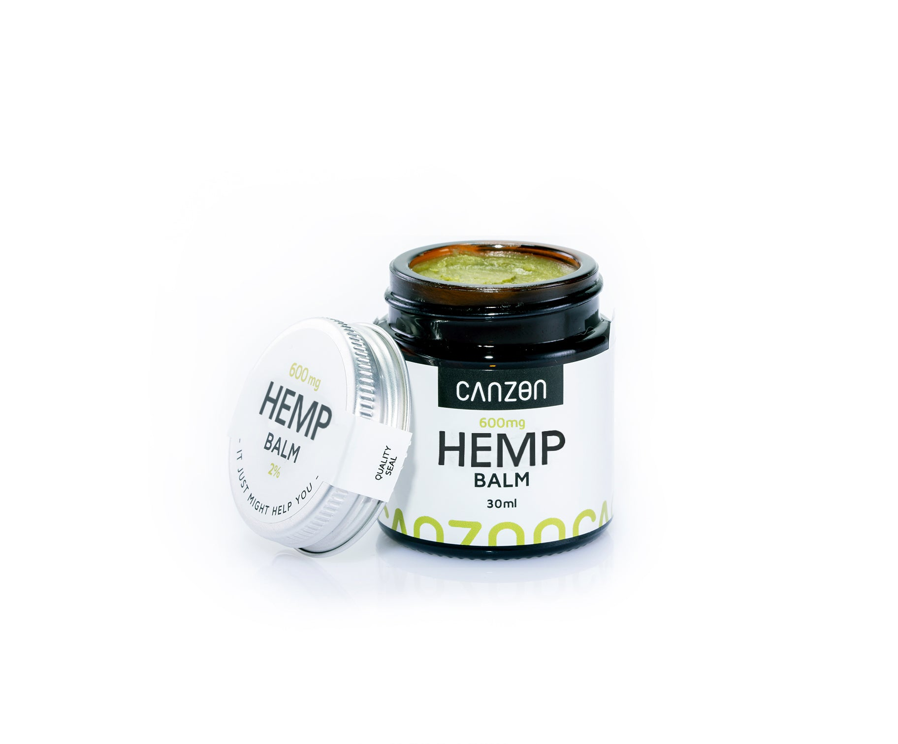 Hemp Balm 2% 30ml, 600mg Hemp Extract