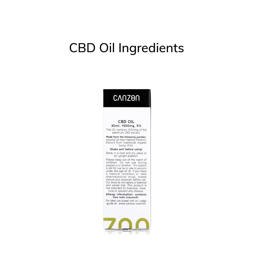 Hemp Oil 5% 30ml