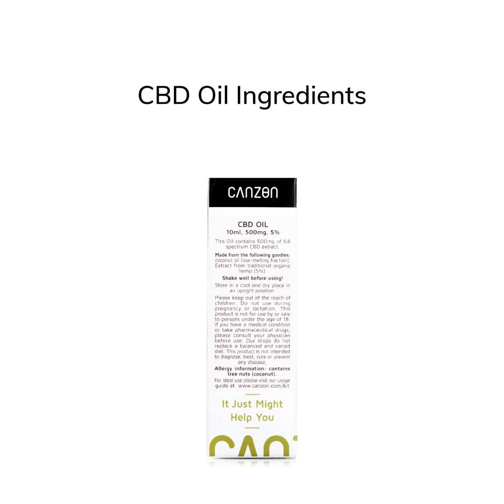 Hemp Oil 5% 10ml