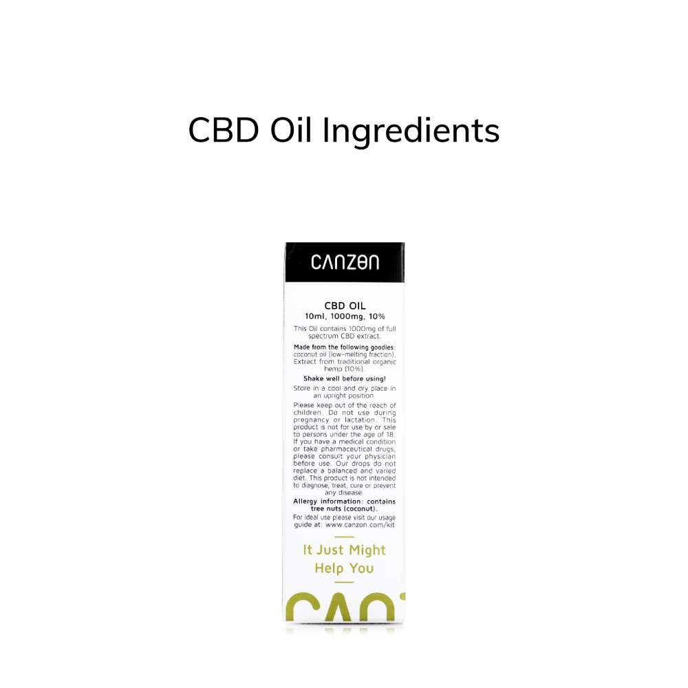 Hemp Oil 10% 10ml