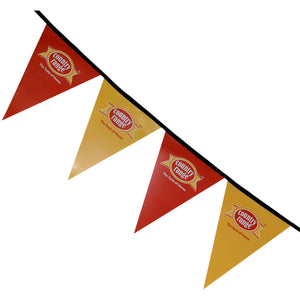 Triange Bunting (4 per metre) with full colour